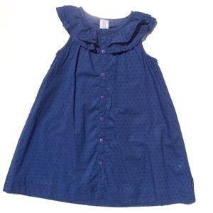Polarn O Pyret Sleeveless Dress Size 110/116 blue